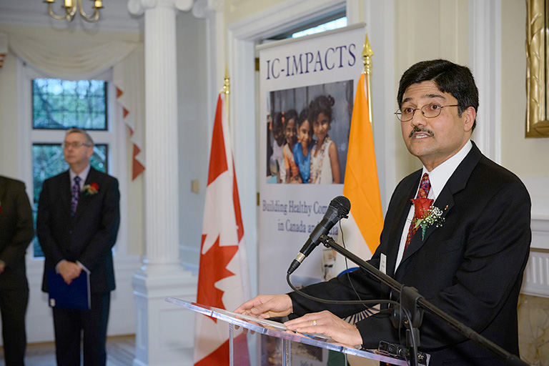 Spearheaded and lead by Dr. Nemy Banthia, IC-IMPACTS is the first and only Canada-India Research Centre of Excellence established through the Canadian Networks of Centres of Excellence (NCE) program and is the first International Research Centre of Excellence in the world.