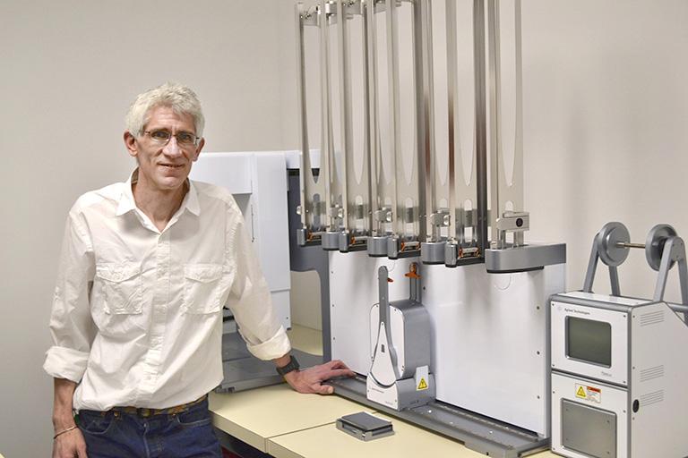 Associate Professor at UBC Pharmaceutical Sciences, Corey Nislow.