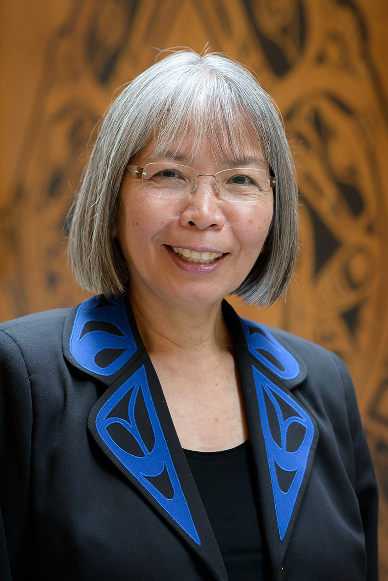"Dr. Archibald is Associate dean for Indigenous Education, director for the Native Indian Teacher Education Program (NITEP) and çeçəwə¬tən sni""stənəq or 'helper who passes on teachings to others'. Photo credit: Don Erhardt"