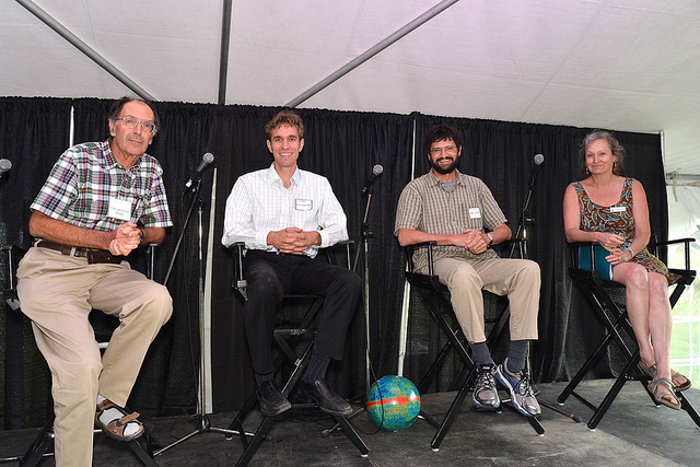 Evening Under the Stars welcomed four alumni as speakers at the event. Photo credit: Bud Mortenson