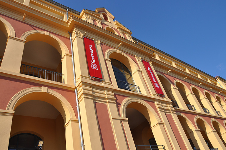 One of the campuses that students can study at is the Menton campus. Photo credit: Sciences Po